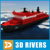 Icebreaker 50 Years Since Victory by 3DRivers